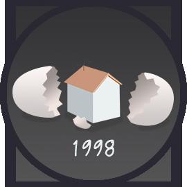 15 éve, 1998-ban már lehetett hirdetni az ingatlan.com-on